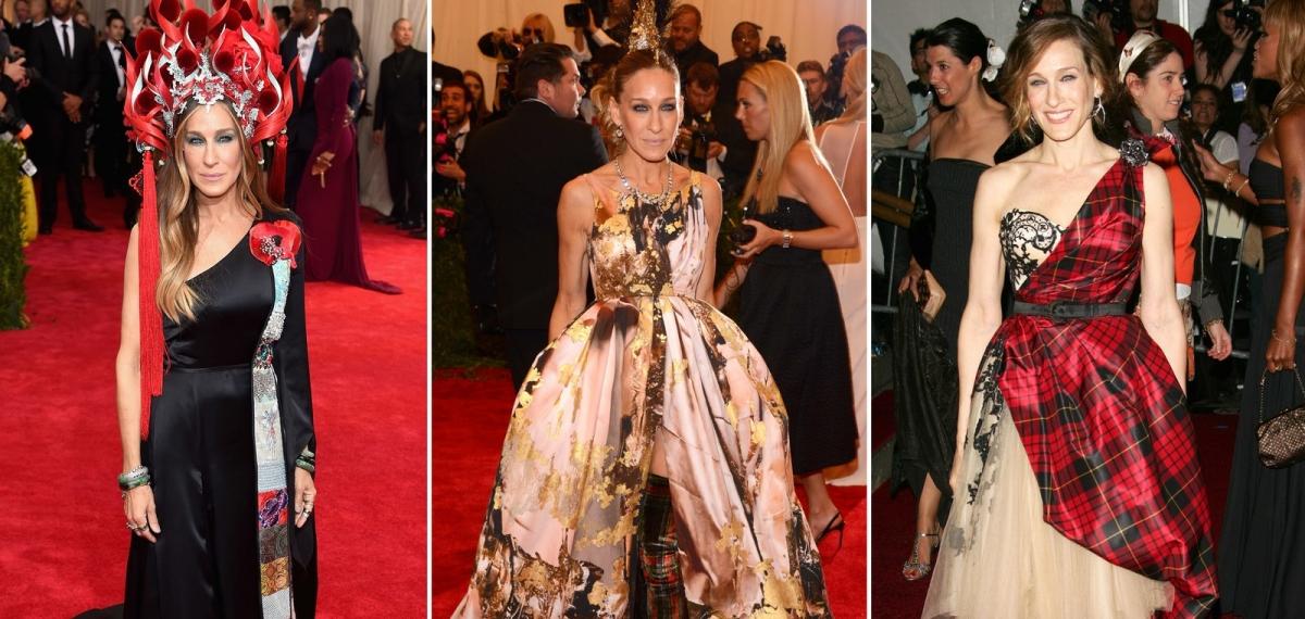 В преддверии «Оскара моды»: Лучшие образы Сары Джессики Паркер на Met Gala