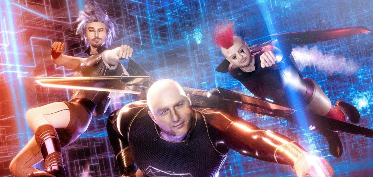 Группа MOZGI выпустила клип с digital-героями и презентовала его на киберспортивном матче