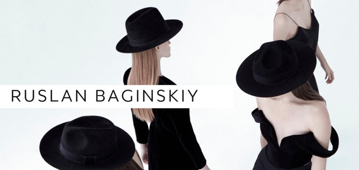 Кампейн стильных шляп Ruslan Baginskiy FW 2016/17