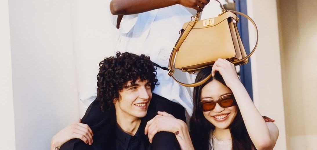 FENDI представляет новую маленькую сумочку Peekaboo ISeeU